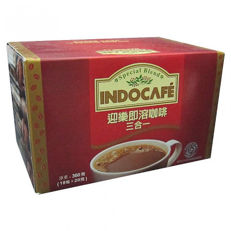 Indonesia Indocafe Coffeemix 3 In 1 (18 sackets X 20g.)
