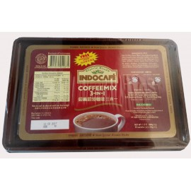 Indonesia Indocafe Coffeemix 3 In 1 (30 Sackets X 20g. + A Free Microwaveable Food Container)