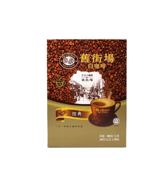 OLD TOWN 3 IN 1 CLASSIC WHITE COFFEE (40.g.X10 Sackets)