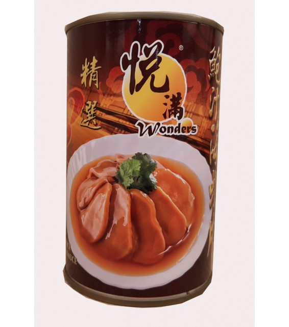 WONDERS CONCH SLICE WITH ABALONE SAUCE 425G.(3 CANS)