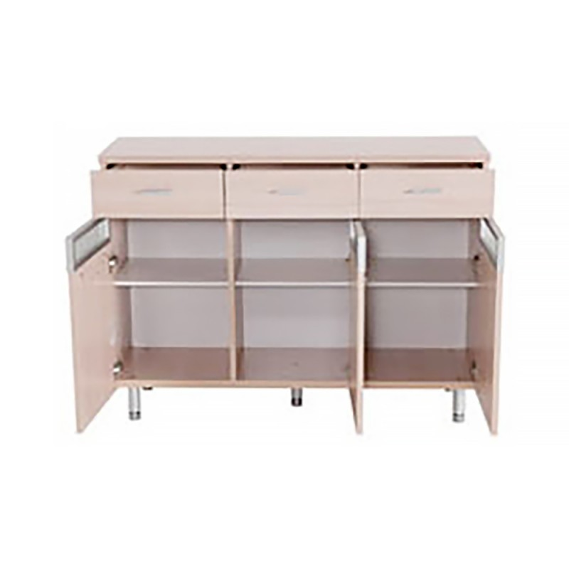 RED APPLE WOODEN SIDE CABINET TR0025-48
