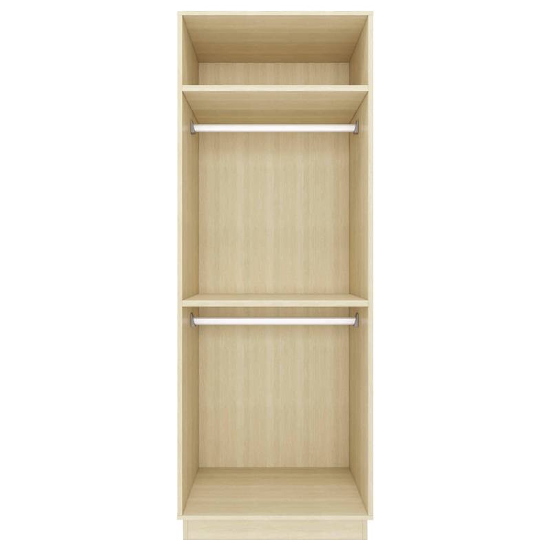 RED APPLE WOODEN WARDROBE WITH 2 HINGED DOORS TR921-0.8