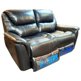 CHEERS Two Seater Genuine Leather Cover Electric Sofa - 8630 - 3000