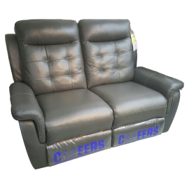 CHEERS Three Seater Genuine Leather Cover Electric Sofa - 9503