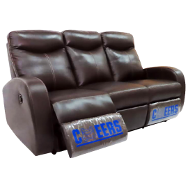 CHEERS Three Seater Genuine Leather Cover Electric Sofa - 8159