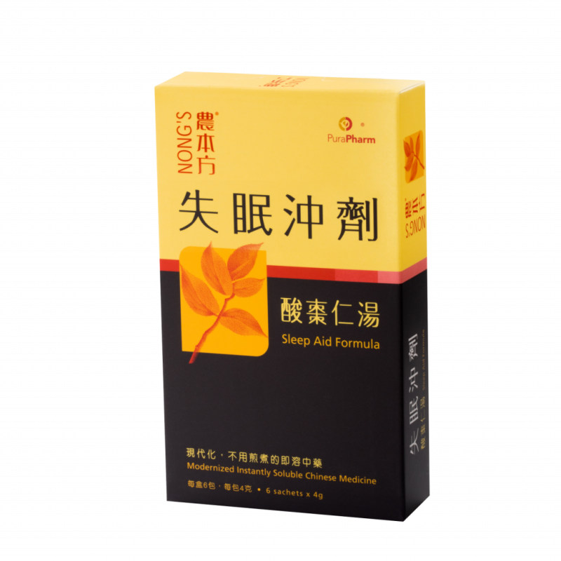 Nong's® Sleep Aid Formula - Suan Zao Ren Tang(4g.X6 Sackets)