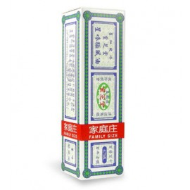 SINGAPORE LING CHI TONG STAR BRAND MEDICATED OIL & EMBROCATION 47ML