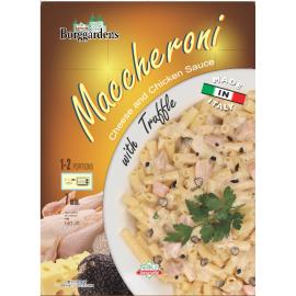 Italy Borggardens Macaroni Cheese & Chicken Sauce With Truffle 160g.