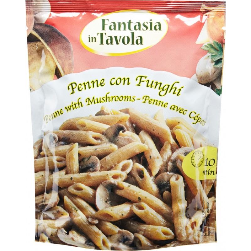 Italy Fantasia Penne Pasta With Porcini Mushroom 175g.