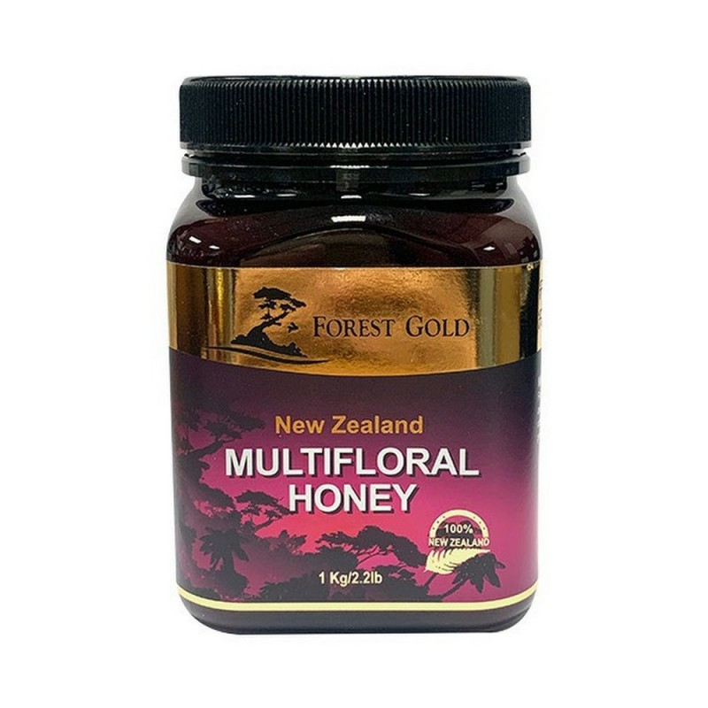 Forest Gold New Zealand Multifloral Honey 1000g. FG1102