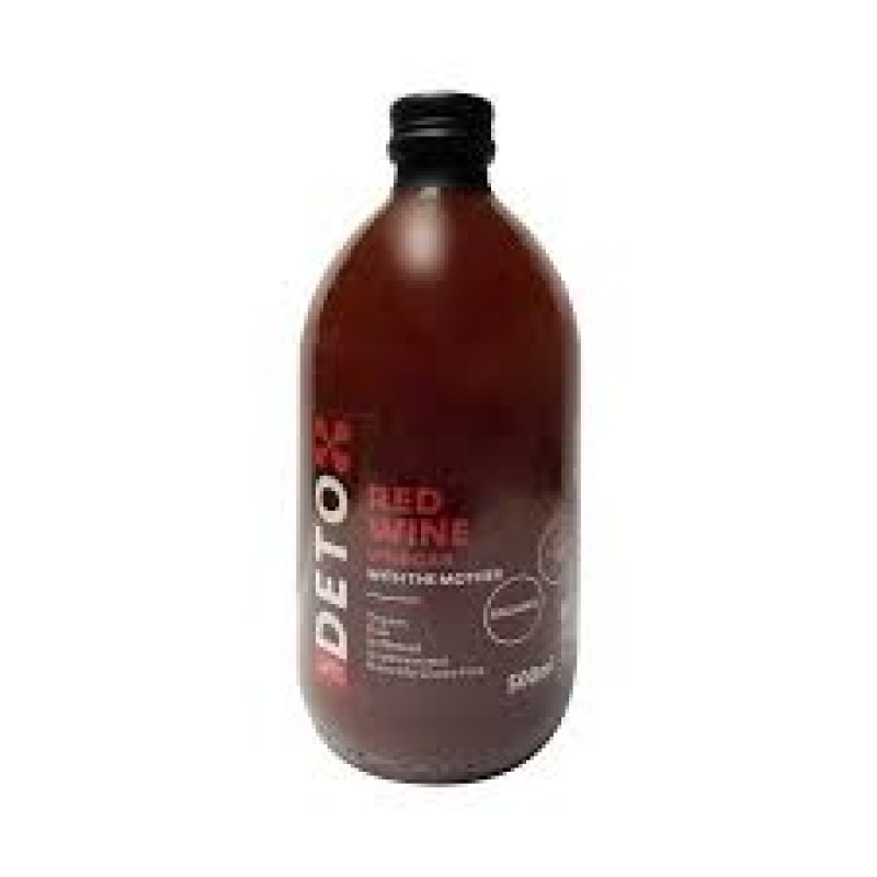 Italy Andrea Milano 1889 Detox Unfiltered Organic Red Wine Vinegar With The Mother 500ml