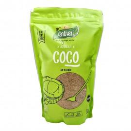 Spain Santiveri Organic Vegan Coconut Sugar Unrefined Low GI 35 300g.