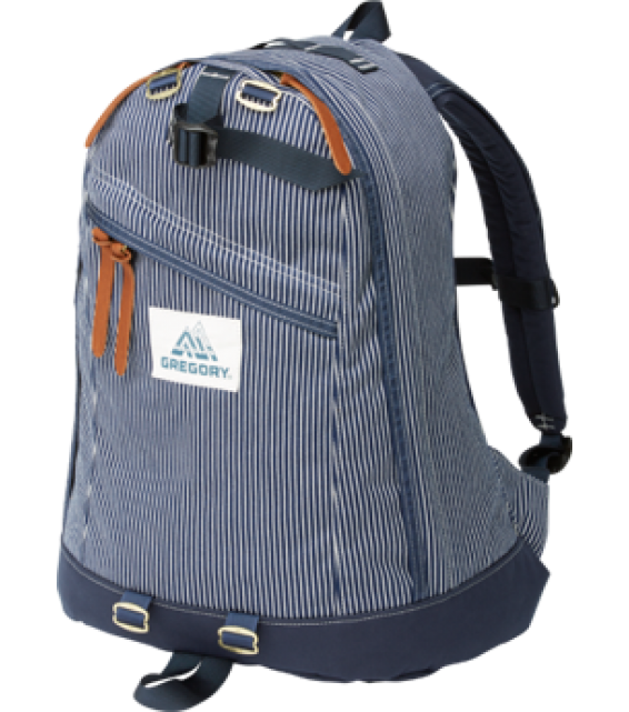 GREGORY DAY PACK/HICKORY STRIPE 65169-7594