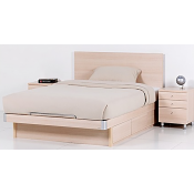 RED APPLE WOODEN BED WITH 3 DRAWERS R368S-B-1.2X1.9