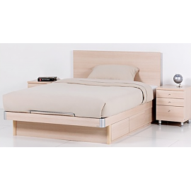 RED APPLE WOODEN BED WITH 3 DRAWERS R368S-B-1.37X1.9