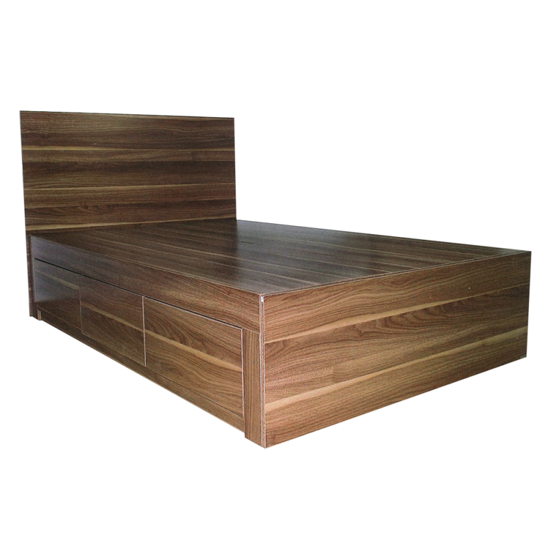 Wooden Bed With 3 Drawers WR983302N