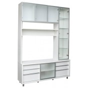 RED APPLE WOODEN SHELVING UNIT R083-60 + R083S-60