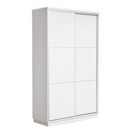 RED APPLE WOODEN WARDROBE WITH 2 SLIDING DOORS R923T-1.2