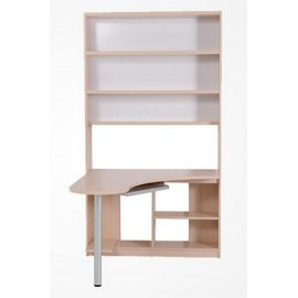RED APPLE WOODEN DESK AND BOOKCASE R730-49L