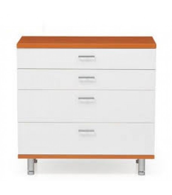 RED APPLE CHEST OF 4 DRAWERS R0060-04