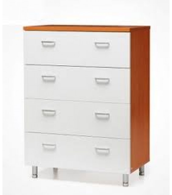 RED APPLE CHEST OF 4 DRAWERS R504L
