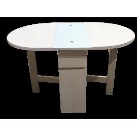 Gateleg Dinning Table In Oval Shape AC686