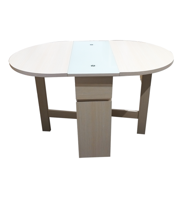 Gateleg Dinning Table In Oval Shape AC686