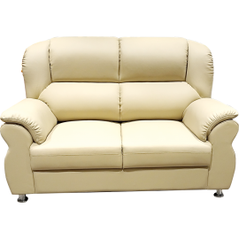2 Seats Leather Sofas 5012