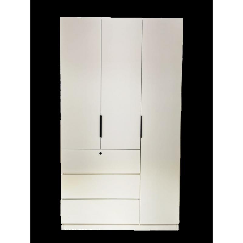 三掩門三櫃桶衣櫃4呎WP04W48