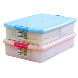 Flat And Translucence Plastic Case With Cover