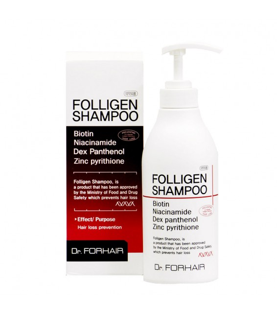 Dr.FORHAIR Folligen Hair Loss Prevention Shampoo 300ML